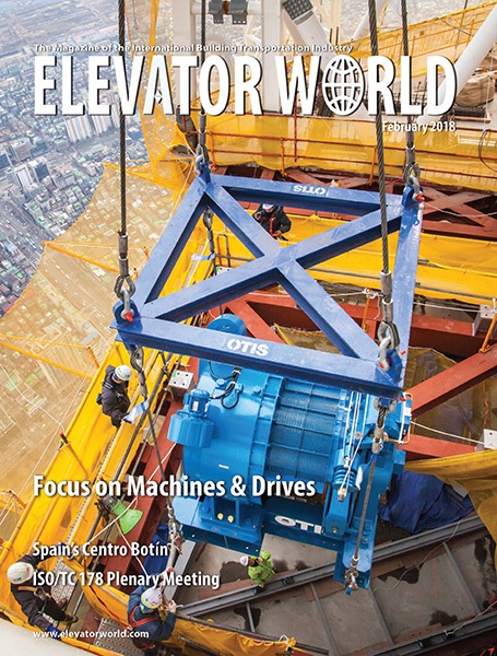 2018 February Traction Elevators: A Comparative Study on Wire Rope Stretch