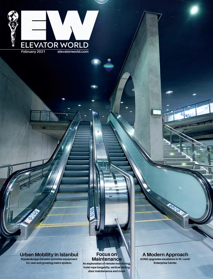 Elevator World | February 2021 Cover