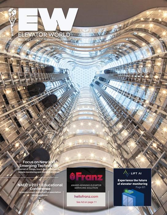 Elevator World | July 2021 Cover