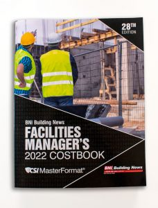 Facilities Manager's Costbook 2022 Edition (Print)